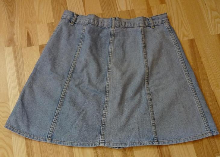 Dámská sukně riflová - Dámské oblečení
