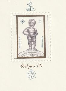 Aršík ARTIA k výstavě Belgica 90
