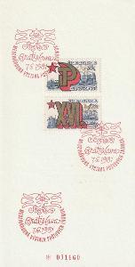 Číslovaný NL Sociflex 81 se známkami 2483 - 2484