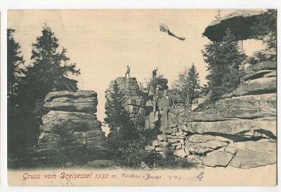 Třístoličník Dreisessel, Stožec, Prachatice, Šumava