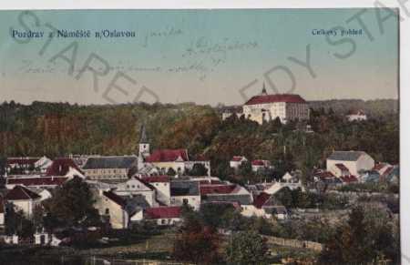 Náměšť nad Oslavou (Třebíč, litografie, kolorovaná