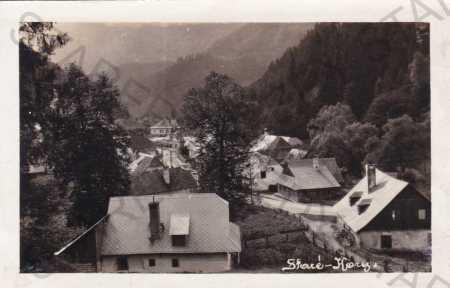 Staré Hory, částečný záběr obce