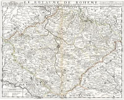 Nolin J. B. : Boheme, mědiryt 1742
