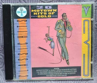 CD - MOTOWN HITS OF GOLD , vol 3 (1988) , CD V PĚKNÉM STAVU