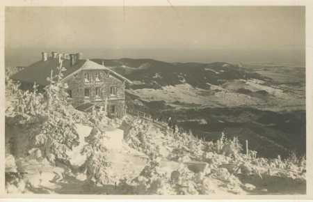 Jeseníky- Šerák (Hochschar)- chata Jiřího (zima)