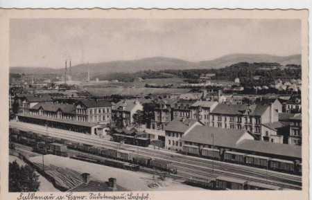 Sokolov (Falkenau), NÁDRAŽÍ, vlaky