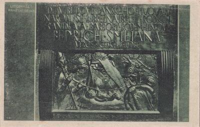 LITOMYŠL - SMETANOVA PAMĚTNÍ DESKA - 51-SQ33