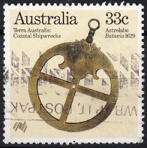Austrálie 1985 Mi.951 prošla poštou