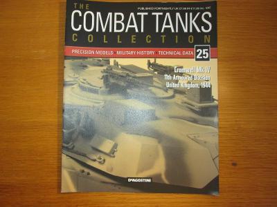 The Combat Tanks Collection DeAgositni #25 Cromwell Mk IV  11th Arm.