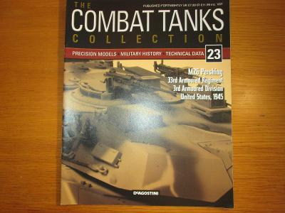 The Combat Tanks Collection DeAgositni #23 M26 Pershing 33rd Arm.