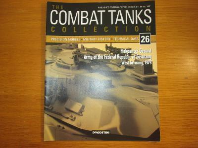 The Combat Tanks Collection DeAgositni #26 Flakpanzer Gepard