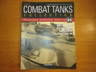 The Combat Tanks Collection DeAgositni #89 M4A3 Sherman {76)