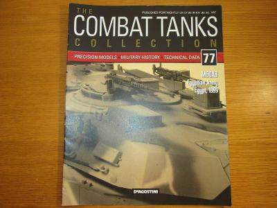 The Combat Tanks Collection DeAgositni #77 M60A3 Egyptian Army Egypt
