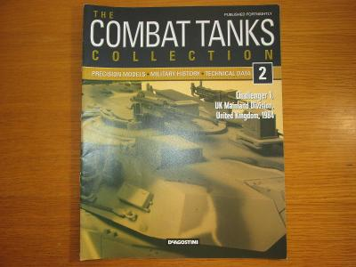 The Combat Tanks Collection DeAgositni #2 Challenger 1 UK mainland