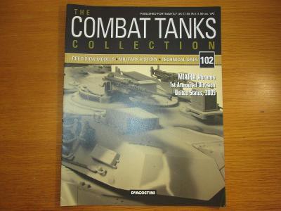 The Combat Tanks Collection DeAgositni #102 M1A1HA Abrams 1st Armoured