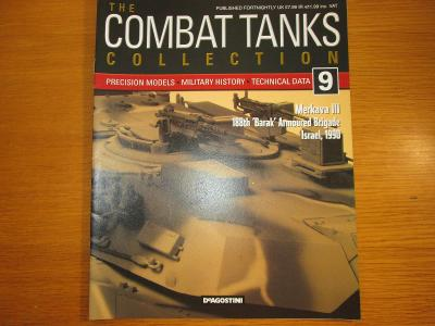 "The Combat Tanks Collection DeAgositni #9 Merkava III 188th ""Barak"""