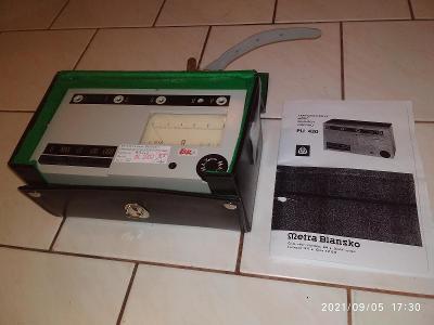 METRA PU430, samotný přístroj