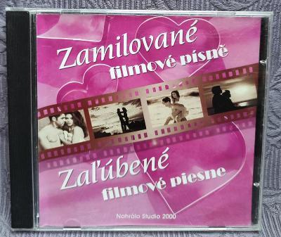 CD - Zamilované filmové písně   ( 2003 ) , CD V PĚKNÉM STAVU