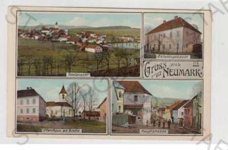 Domažlice, Všeruby (Neumark), Více pohledů, Pohled