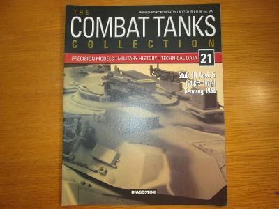 The Combat Tanks Collection DeAgositni #21 StuG. III Ausf. Sd.Kfz.