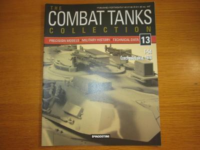 The Combat Tanks Collection DeAgositni #13 T-54 Czechoslovakia 1978