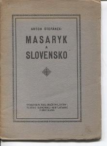Masaryk a Slovensko