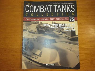 The Combat Tanks Collection DeAgositni #75 Pz.Kpfw. V Panther Ausf. A