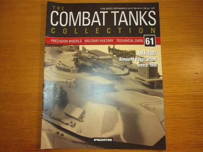 The Combat Tanks Collection DeAgositni #61 AMX-30B2 Armoured troops