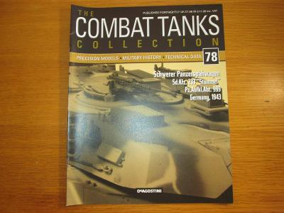 The Combat Tanks Collection DeAgositni #78 Schwerer Panzerspahwagen