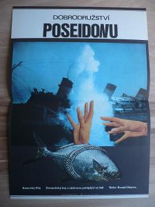 Dobrodružství Poseidonu (filmový plakát, film USA 1972,