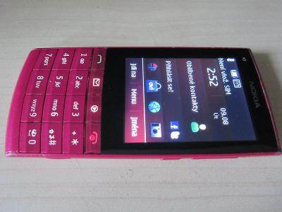 Mobil NOKIA X3-02 /mobilní telefon