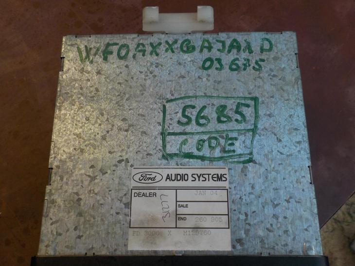 Autorádio Ford - TV, audio, video
