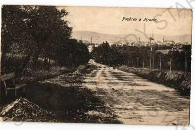 Hranice Přerov částečný záběr města