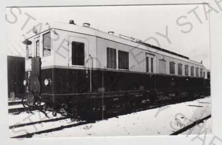 Vlak, lokomotiva, Motorový vůz M 275.001, Foto Sta