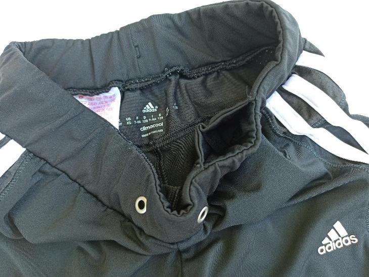 ADIDAS sportovní 3/4 kalhoty pumpky 122-128/6-7-8 let CLIMACOOL - Oblečení