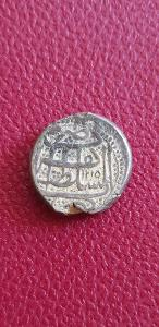Afghánistán 1 Rupie 1215 (1801)Herat , Stříbro, ve skvělé kondici