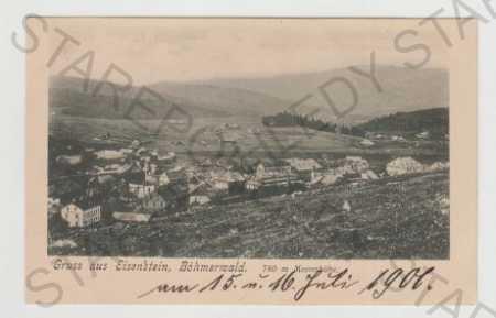 Klatovy, Železná Ruda (Eisenstein), Pohled na měst