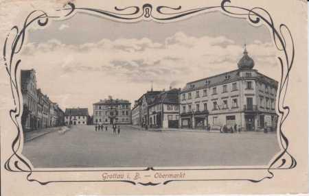 Hrádek nad Nisou (Grottau), náměstí