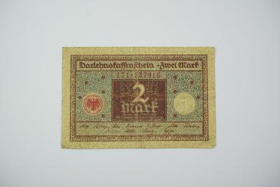 2 Mark 1920 s. 171 hnědá