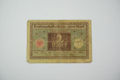 2 Mark 1920 s. 185 hnědá