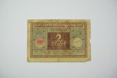 2 Mark 1920 s. 93 hnědá