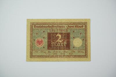 2 Mark 1920 s. 154 hnědá
