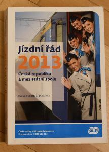 Jízdní řád ČD 2013