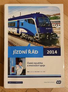 Jízdní řád ČD 2014