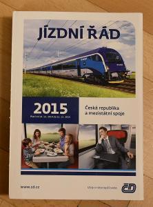 Jízdní řád ČD 2015