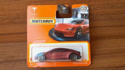 Matchbox Tesla Roadster 2021 NOVINKA