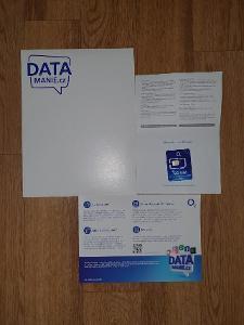 O2 SIM karta Datamánie 100GB za 300Kč na měsíc - NOVÁ, NEROZBALENÁ