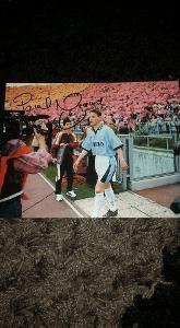 Foto (obrázek časopis) Pavel Nedvěd (Lazio) s podpisem - fotbal