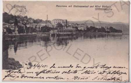 Abbazia - Opatija (CHorvatsko, Jugoslávie) pohled