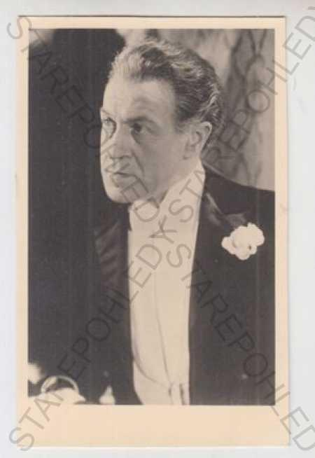 Eduard Kohout, herec, Národní divadlo - Pohlednice